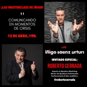 COMUNICANDO EN MOMENTOS DE CRISIS Roberto Cerrada
