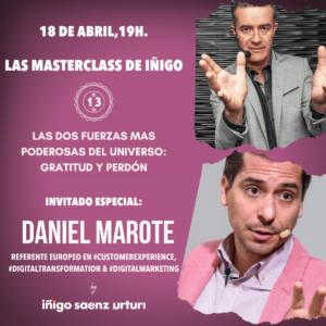 LAS DOS FUERZAS MAS PODEROSAS DEL UNIVERSO GRATITUD Y PERDÓN. Daniel Marote