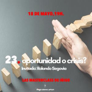 oportunidad o crisis