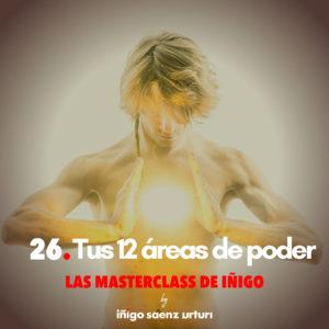 Tus 12 áreas de poder