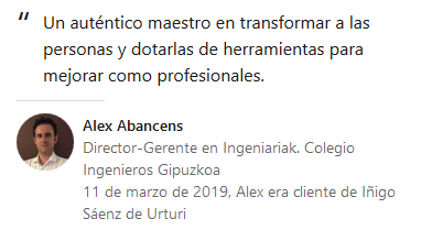 Alex Abancens opinion
