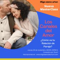 MASTERCLASS -LOS CANALES DEL AMOR
