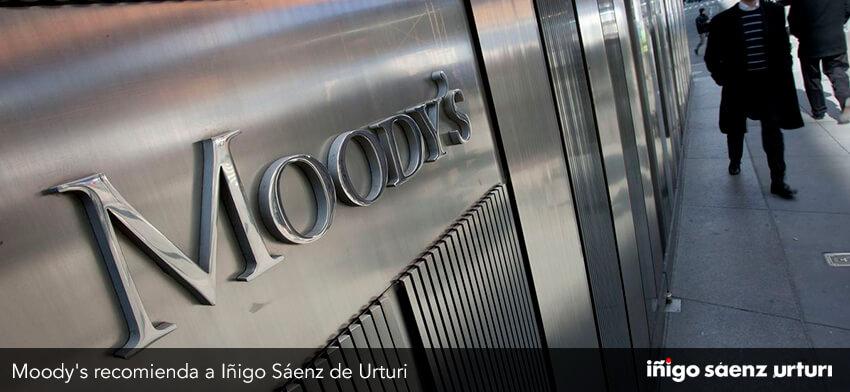 Moody's recomienda a Iñigo Sáenz de Urturi