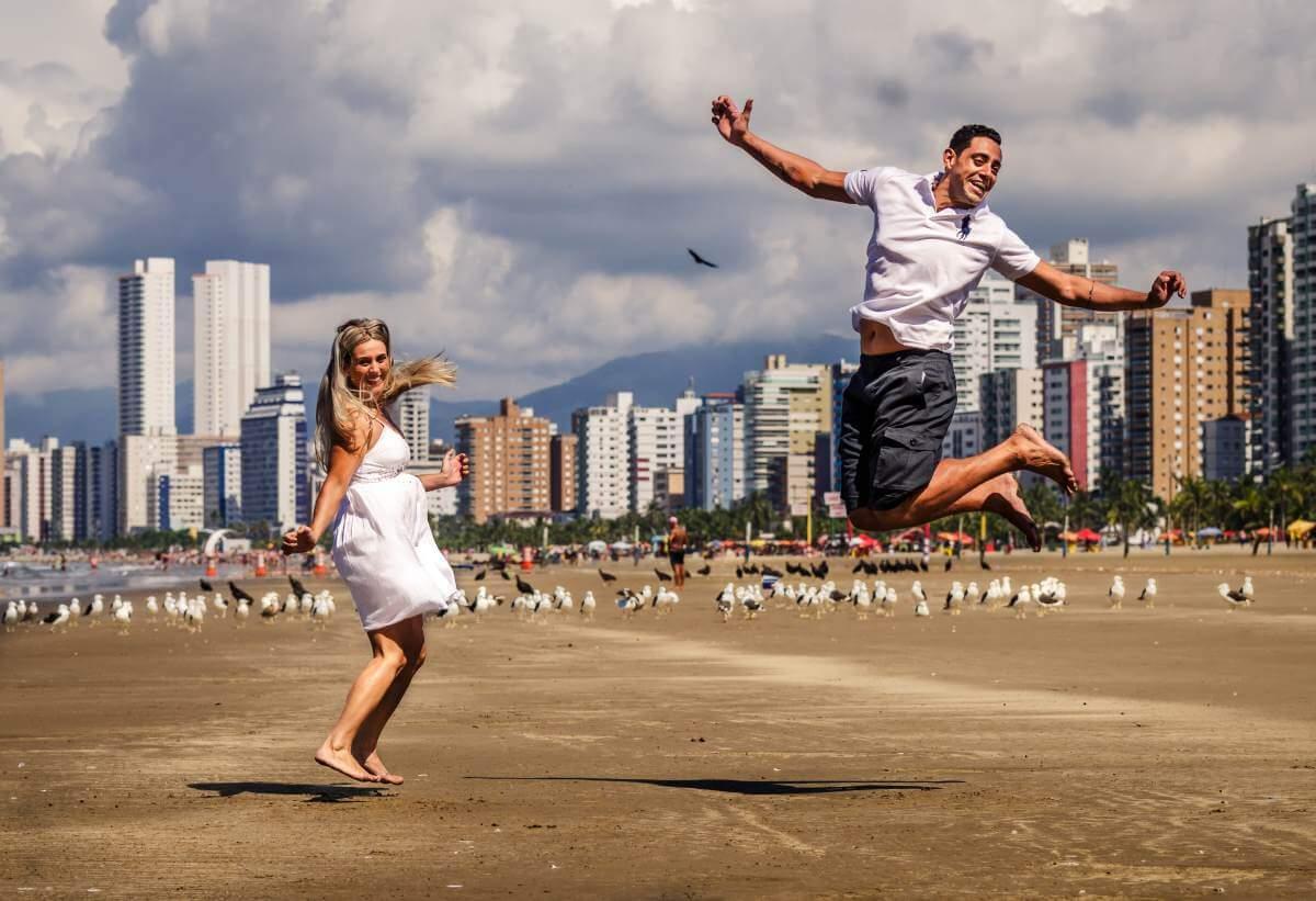 saltos de alegria