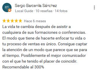 Sergio Barcenilla opinion CLC